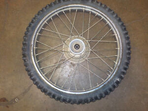 HONDA XR100 2002 FRONT WHEEL USED