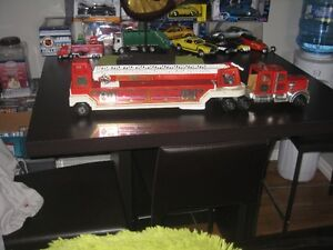 "Vintage Tonka Hook And Ladder Fire Truck #1 33"" Long"