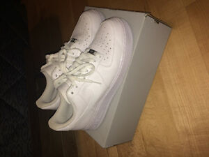 Brand new Nike Air Force one all white