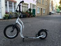 "Adult scooter 16"" and 12"" wheels"