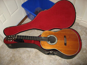 1968 Ovation Acoustic/Electric Smoothback Classical Guitar