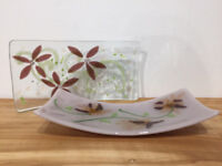 Create a Fused Glass Flower Plate
