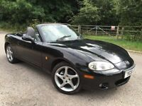 Mazda mx5 sport black 1.8 .6 speed gearbox