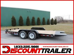 2019 Tilt bed equipment trailer 18' 14k