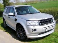 LAND ROVER FREELANDER 2 SPORT LE DYNAMIC SD4 NAV LEATHER AUTO DVD BLUETOOTH LED