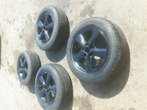 Tires on Rims 195/65R15