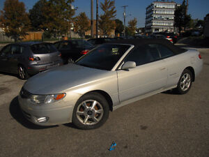 2001 Toyota Solara Convertible 3 YEARS POWER TRAIN WARRANTY