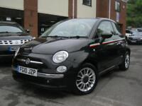 2010 10-Reg Fiat 500C 1.2 Lounge Convertible,1 OWNER,FSH,RED ROOF,IMMACULATE!!!