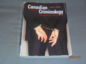 Canadian Criminology Strategies and Perspectives
