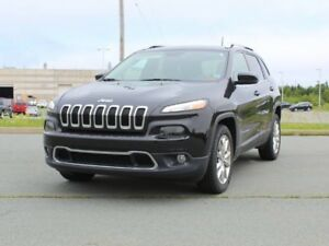 2016 JEEP CHEROKEE Limited with Extended Warranty!!
