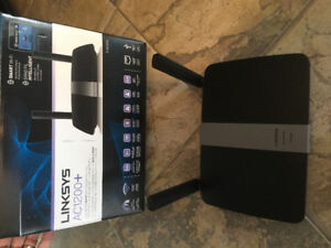 Linksys AC1200+ dual band smart wireless router (EA6350)