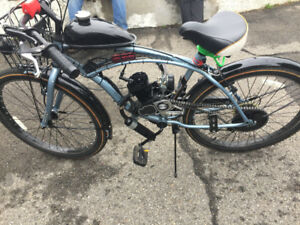 MOTORIZED  BIKE  -  49  CC -  NEW  CONDITION - CAMP BIKE