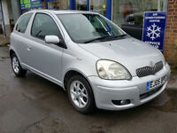 2005 TOYOTA YARIS 1.3 VVTI AUTOMATIC 3 DOOR SILVER ONE OWNER FULL HISTORY