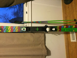Used FIrefly wall rider skies