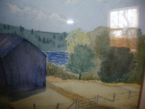 Co-Worker with Group of Seven,T. W. McLean, Original Watercolor Stratford Kitchener Area image 8