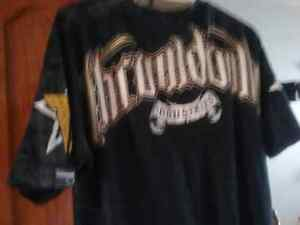 Throw down industries large men's graphic tee shirt was 50 new