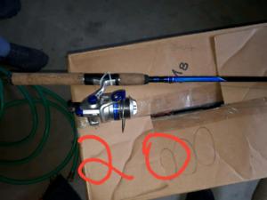 Article de pêche  coffre cannes à pêche  lancée léger longueur 6