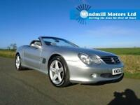 2004/04 MERCEDES-BENZ SL CLASS 3.7 SL350 2DR CONVERTIBLE - LOW MILEAGE