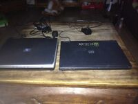Two faulty laptops