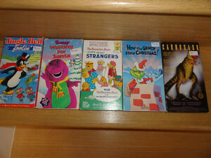 Childrens VHS Movies Cambridge Kitchener Area image 1