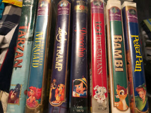 Disney VHS Movies Sealed!