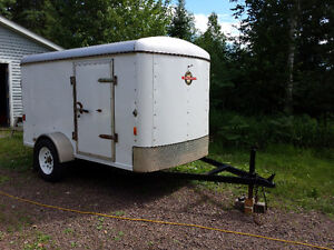 2010 Cargo Trailer, Licensed and Inspected!