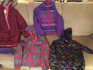 Girls Coats Size 10/12 - Excellent Condition
