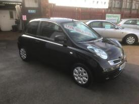 2010/10 Nissan Micra 1.2 16v (79bhp) Visia 3dr ONLY 38536 Miles NOW £3295