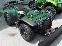 2001 ARCTIC CAT 300 4X4 COME WITH PLOW !!!