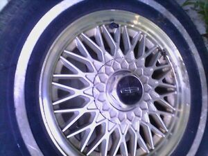 LINCOLN 15 ALUMINUM RIMS