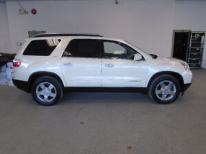 2008 GMC ACADIA SLT AWD! 7 PASS! LEATHER! SPECIAL ONLY $10,900!