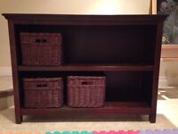 Pottery Barn console table/shelving unit