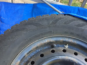 Used Hercules Avalanche X-treme tires for sale with rims Windsor Region Ontario image 2