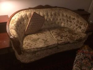 MUST BE PICKED UP SAT 27th! Provincial Loveseat and Chair
