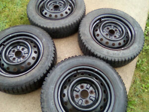 4 RIMS /4 Trous / BP 4 . 100 Pour TOYOTA Echo/HYUNDAI Accent ...