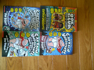 Books - Captain Underpants