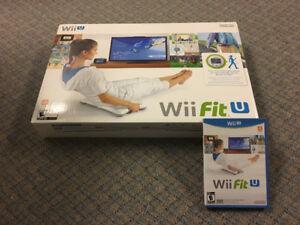 Wii Fit U game & board
