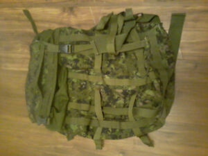 Military Issue Camo Backpack
