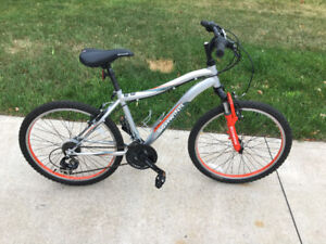 """Boys 24"""" Mountain Bike with Front Suspension"""