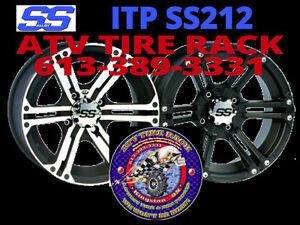 ITP SS212 Rims - ATV TIRE RACK -  We Will Beat ALL PRICES !!!