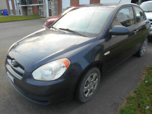 Hyundai Accent 2007 en tres bonne condition