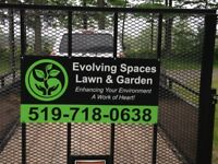 EVOLVING SPACES LAWN AND GARDEN