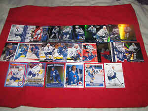 Groups of star cards:Sundin, Yzerman, Jagr, Luongo, Joseph, more