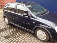 Corsa 1.2 petrol. 5 door hatchback 12 months mot. £605