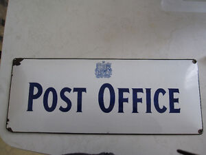 1950's Canada Postal Store Sign