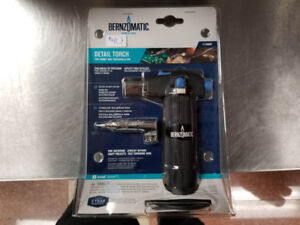 Bernzomatic Detail Torch (Brand New)
