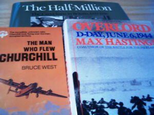 World War II WW2 BOOKs - bomber, Canadians, D-Day $10 for all