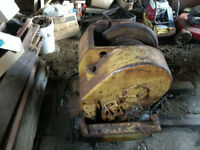 Clarke log skidder 664 b log winch