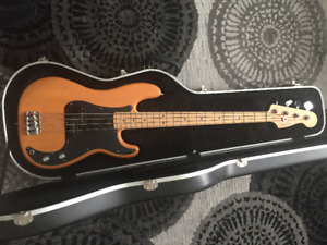 Fender Precision USA Butterscotch Bass Guitar