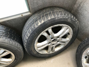 used winter tire and rims